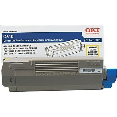 OKI 44315301 Yellow Toner Cartridge