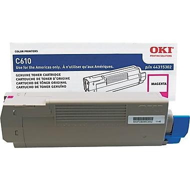 OKI – Cartouche de toner magenta, 44315302