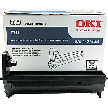 OKI 44318504 Black Drum Cartridge