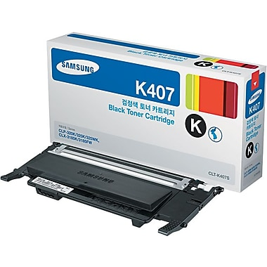 Samsung – Cartouche de toner noir CLT-K407S