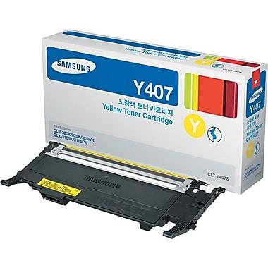 Samsung – Cartouche de toner jaune CLT-Y407S
