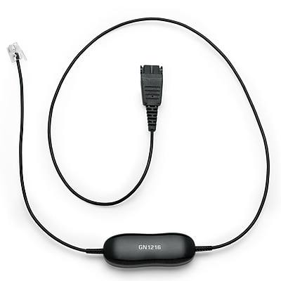 Jabra GN 1216 Coiled Cord for Avaya Phones