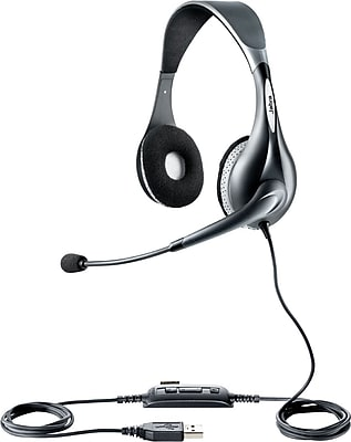 Jabra UC VOICE™ 150 Duo MS Corded Headset for Microsoft® Lync™