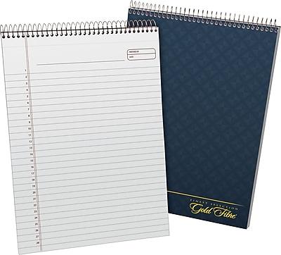 Ampad® Gold Fibre® Designer Series Wirebound Pad 8-1/2x11-3/4