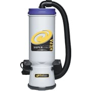 ProTeam Super CoachVac HEPA 107119 Backpack Vacuum Cleaner, 10 qt.