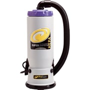 ProTeam Super QuarterVac HEPA 107118 Backpack Vacuum Cleaner, 6 qt.