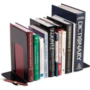 SteelMaster® Non-Slip Bookends, Black, 9""