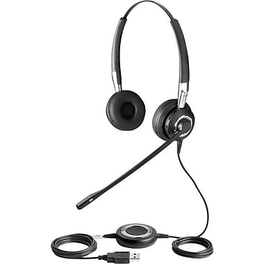 Jabra BIZ 2400 USB Wired VoIP Telephone Headset (Microsoft Lync Optimized)