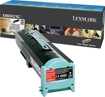 Lexmark X860/864 Black Toner Cartridge (X860H21G), High Yield