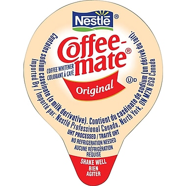 Nestlé® Coffee-mate® Coffee Whitener Singles, Original, 180/Box
