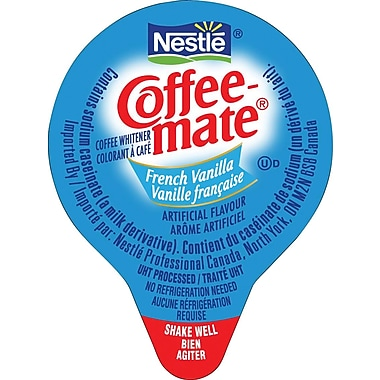 Nestlé® Coffee-mate® Coffee Whitener Singles, French Vanilla, 180/Box