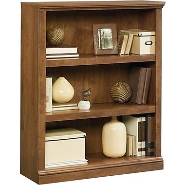 Sauder 3-Shelf Bookcase, Oiled Oak