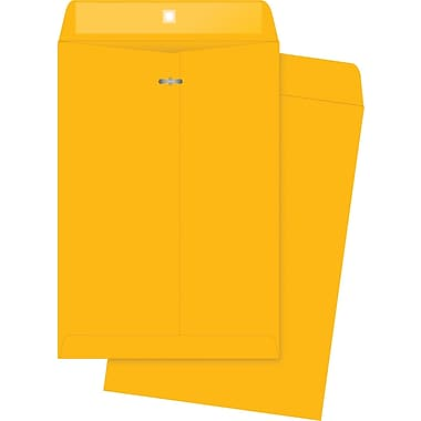 Quality Park Gummed Clasp Envelopes, 7