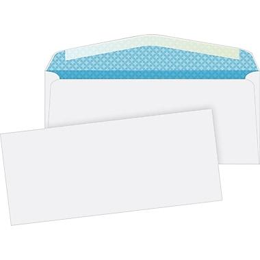Quality Park Gummed V-Flap Security Tinted Business #10 Envelopes, 4 1/8