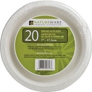 "Natureware 7"" Paper Plates, 20-Pack"