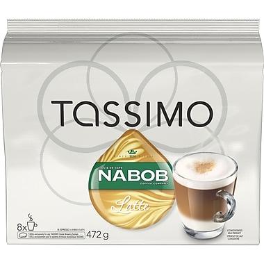 Nabob Latte T-Disc Refills, 8/Pack (TCTA03)
