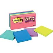 Post-it® Super Sticky Flat Notes