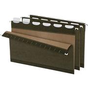 Pendaflex® Ready Tab® Hanging File Folders, Legal, 1/5-Cut, Standard Green