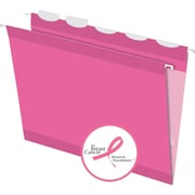 Pendaflex® Ready-Tab® Breast Cancer Awareness Hanging File Folders, Pink