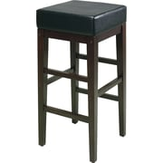 "OSP Designs® Metro Faux Leather 30"" Bar Stool, Espresso"