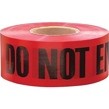 Irwin® Strait-line® Danger Do Not Enter Tape Barrier Tape, Red/Black