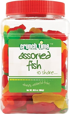 Crunch Time™ Assorted Fish, 30.5 oz.