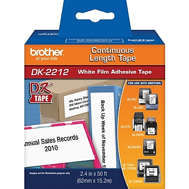 Brother Continuous Length Film Tape 2 3/7