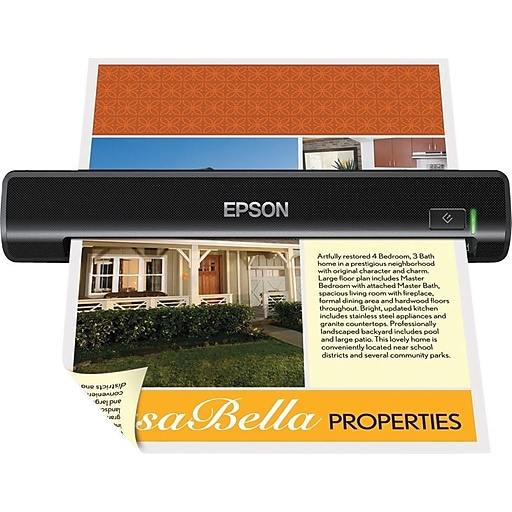 Epson® DS-30 B11B206201 Portable Scanner