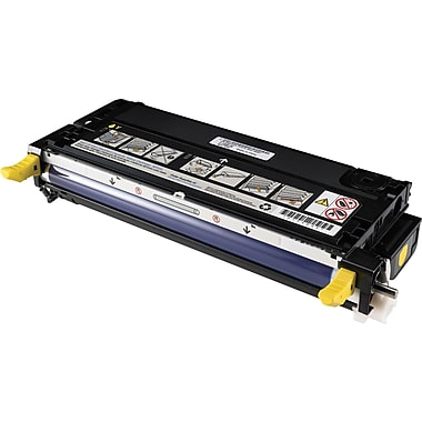 Buy dell 3130cn laser printer toner cartridges staples dell g909c yellow toner cartridge g481f sciox Choice Image