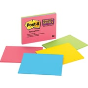 Post-it® Super Sticky Jewel Pop Meeting Notes