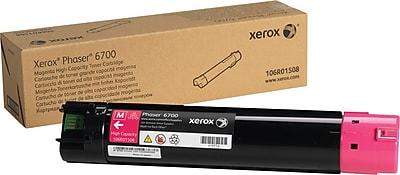 Xerox Phaser 6700 Magenta Toner Cartridge (106R01508), High Yield