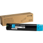 Xerox Phaser 6700 Cyan Toner Cartridge (106R01507), High Yield