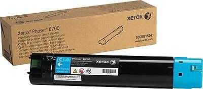 Xerox Phaser 6700 Cyan Toner Cartridge (106R01507), High Yield