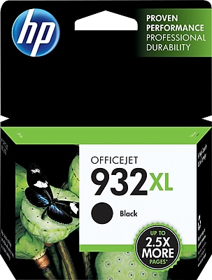 HP 932XL Black Ink Cartridge (CN053AN), High Yield