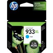 HP 933XL Cartouche d'encre cyan à rendement élevé d'origine (CN054AN)