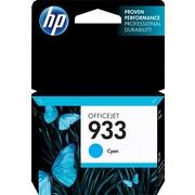 HP933 Cartouche d'encre cyan d'origine (CN058AN)