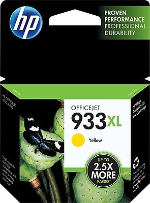 HP 933XL Yellow Ink Cartridge (CN056AN), High Yield