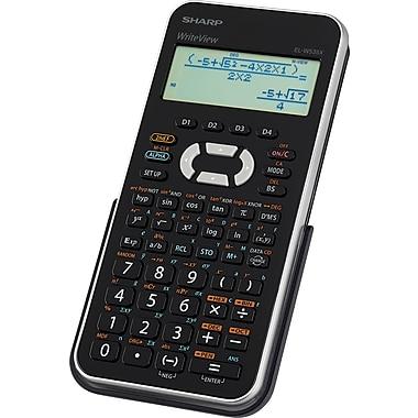 Sharp® – Calculatrice scientifique Write View ELW535XBSL
