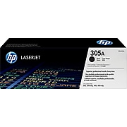 HP 305A Black Standard Yield Toner Cartridge (CE410A)
