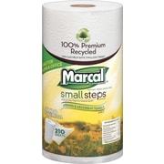 Marcal® 100% Recycled Mega Roll Paper Towel Rolls, 2-Ply, 12 Rolls/Case