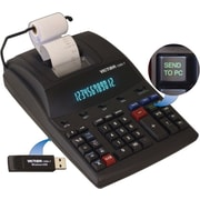 Victor® Printing Calculator with Wireless Data Relay (1280-7)