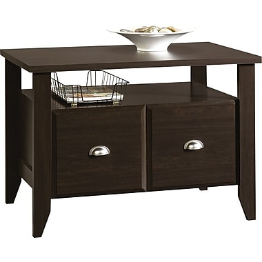 Sauder Shoal Creek Collection Utility Stand, Jamocha Wood