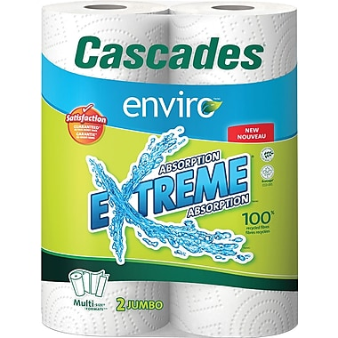 Cascades Enviro Extreme Multi-Size-Formats Paper Towel
