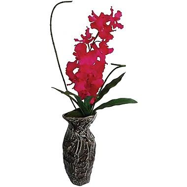 Laura Ashley® Fuschia Orchid in Designer Ceramic Container