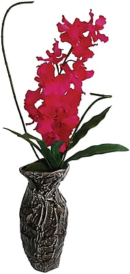Laura Ashley® Fuschia Orchid in Designer Ceramic Container