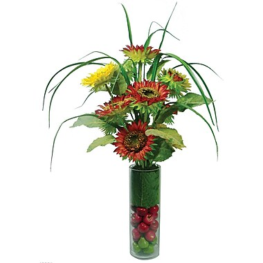 Laura Ashley® Sunflowers in a Glass Container