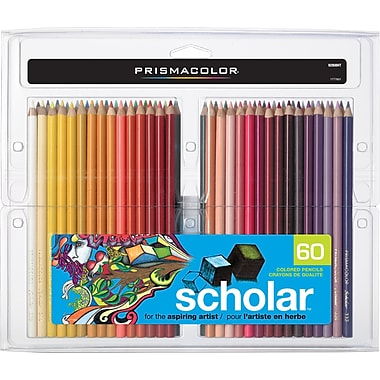 Prismacolor® Scholar Coloured Pencils, 60/Pack