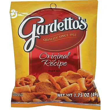 Gardetto's® Snack Mix, Original, 1.75 oz. Bags, 60 Bags/Box