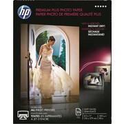 HP® - Papier photo Premium Plus, légèrement lustré, 8 1/2 po x 11 po, paq./25