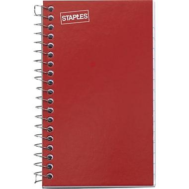 Staples® Side Bound Memo Books, 3